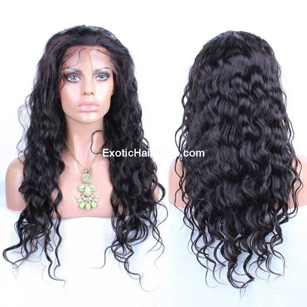 HD Film Lace / Illusion Lace Wig on a 13x6 Frontal - Exotic Hair Shop