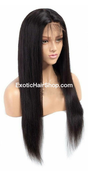 HD Film Lace / Illusion Lace Wig on a 4x4 Closure - Exotic Hair Shop