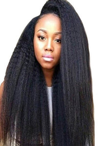 HD Film Lace Wig Kinky Straight - Exotic Hair Shop