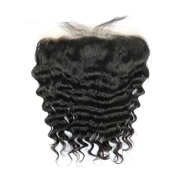Swiss Lace Frontal Brazilian Loose Wave 13x4 Lace Frontal - Exotic Hair Shop