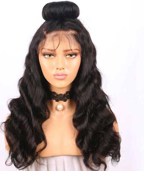 Brazilian Body Wave 360 Lace Frontal Wig with Pre-Plucked With Baby Hair - Exotic Hair Shop