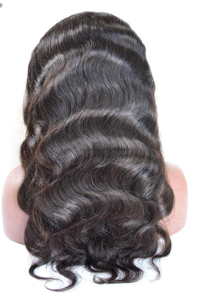Brazilian Body Wave 360 Lace Frontal Wig with Natural Hairline - Exotic Hair Shop