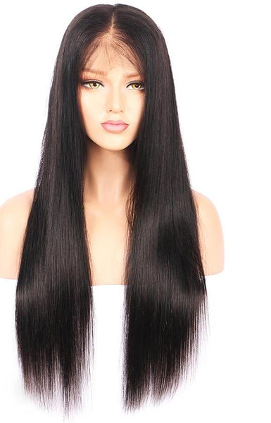 Brazilian Straight Lace Front Wig with Baby Hair - Exotic Hair Shop