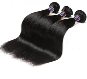 3 Malaysian Straight Bundles - Exotic Hair Shop