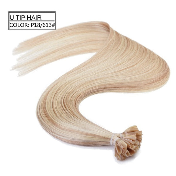 U/Nail Tip Fusion Hair Extensions - Exotic Hair Shop
