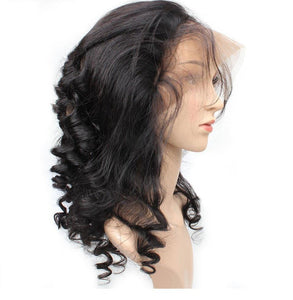 Indian Loose Wave 360 Lace Frontal - Exotic Hair Shop