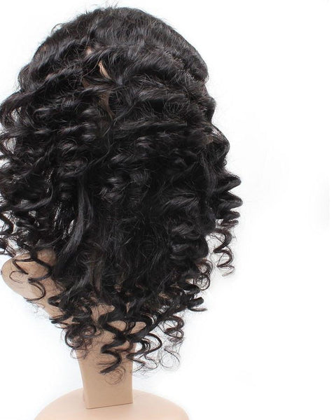 Indian Loose Wave 360 Lace Frontal Closure - Exotic Hair Shop