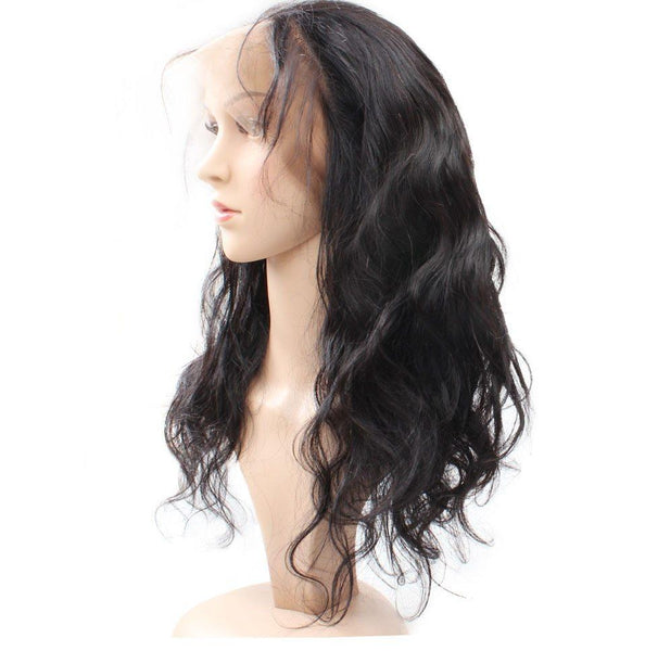 Malaysian Body Wave 360 Lace Frontal - Exotic Hair Shop