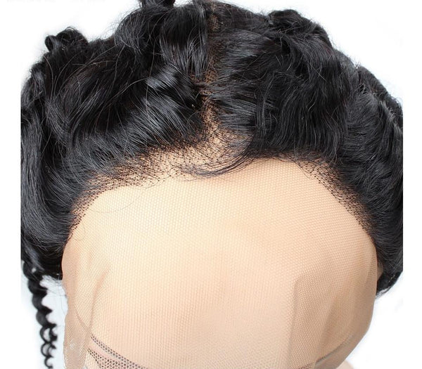 Malaysian Curly 360 Lace Frontal - Exotic Hair Shop