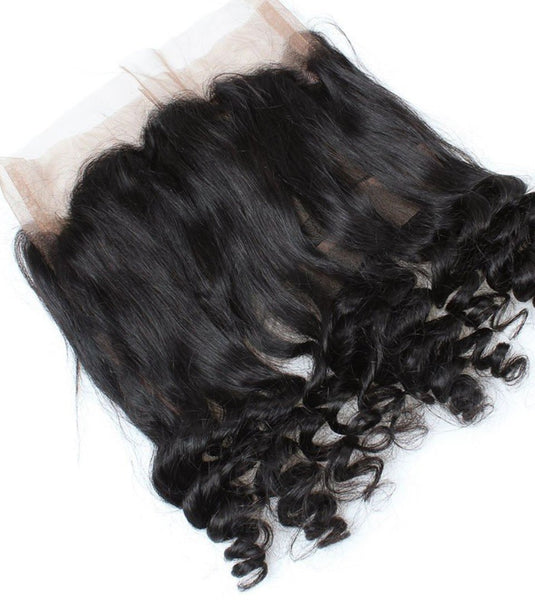 Brazilian Loose Wave 360 Lace Frontal Closure - Exotic Hair Shop