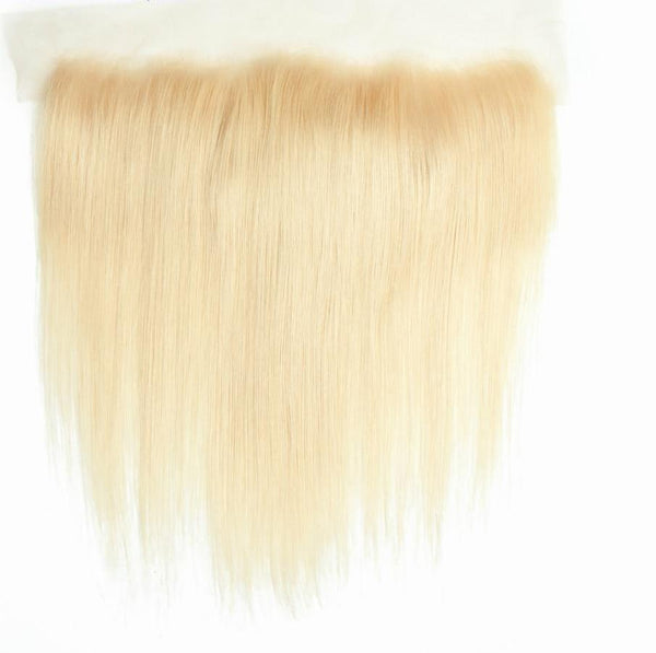 "Brazilian Straight Lace Frontal 13""x4"" - 613 Blonde - Exotic Hair Shop"