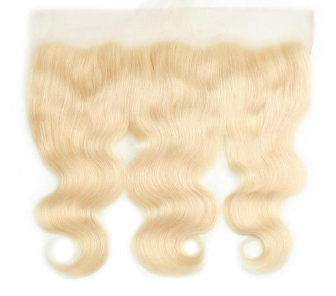 "Brazilian Body Wave Lace Frontal 13""x4"" - 613 Blonde - Exotic Hair Shop"