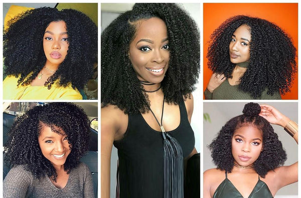 Mongolian Exotic Curly Lace Front Wig - Exotic Hair Shop