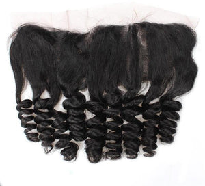 Indian Loose Wave 13x4 Lace Frontal - Exotic Hair Shop