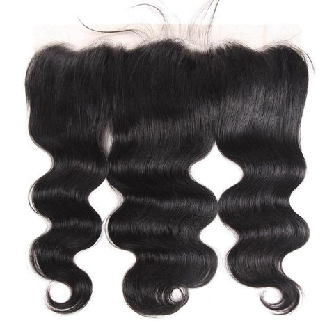 "Brazilian Body Wave Lace Frontal 13""x4"" - Exotic Hair Shop"
