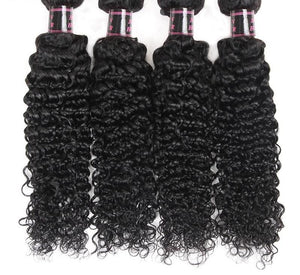 4 Brazilian Exotic Curly Bundles - Exotic Hair Shop