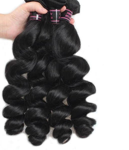 4 Indian Loose Wave Bundles - Exotic Hair Shop