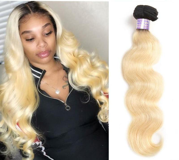 Brazilian Body Wave Blonde Bundle - Exotic Hair Shop