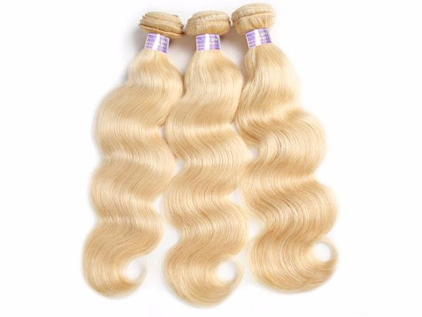 3 Brazilian Body Wave Blonde #613 Bundles - Exotic Hair Shop