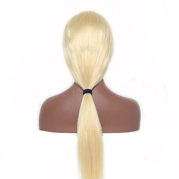 Brazilian Straight 360 Lace Frontal Wig in  Honey Blonde Color 613 - Exotic Hair Shop