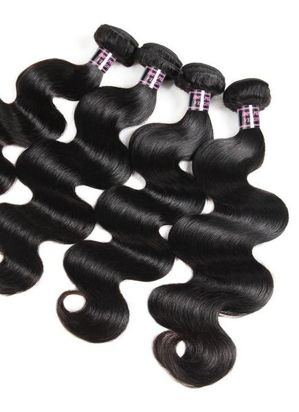 4 Brazilian Body Wave Bundles - Exotic Hair Shop