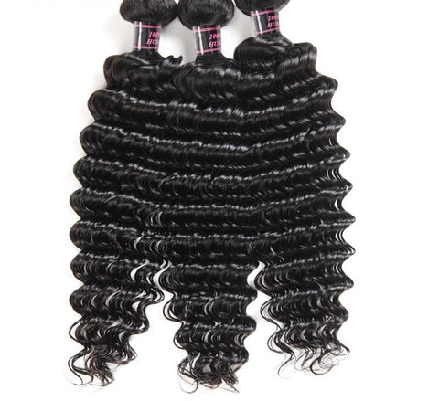 3 Malaysian Exotic Wave Bundles - Exotic Hair Shop