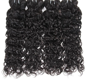 4 Brazilian Water Wave Bundles - Exotic Hair Shop
