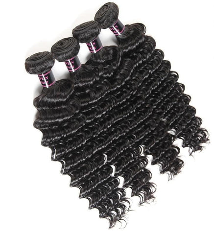 4 Brazilian Exotic Wave Bundles - Exotic Hair Shop