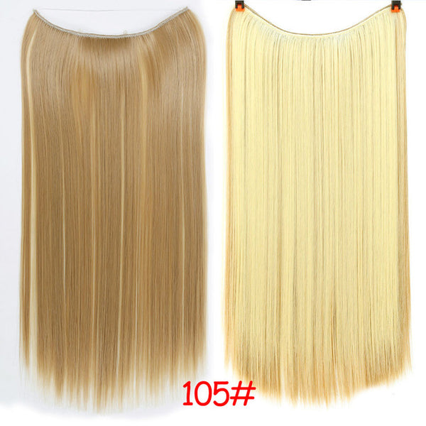 Voluminous Halo Hair Extension Band 24 Inches - Exotic Hair Shop