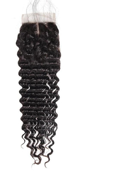 "Malaysian Exotic Wave 4""x4"" Lace Closure - Exotic Hair Shop"