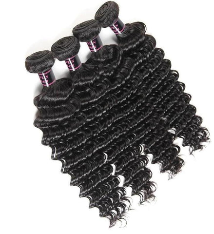 4 Malaysian Exotic Wave Bundles - Exotic Hair Shop