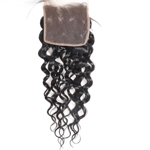 "Brazilian Water Wave Lace Closure 4""x4"" - Exotic Hair Shop"