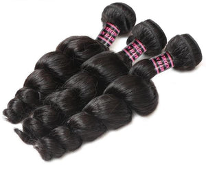 3 Malaysian Loose Wave Bundles - Exotic Hair Shop
