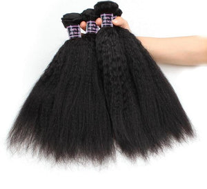 4 Malaysian Yaki Straight Bundles - Exotic Hair Shop
