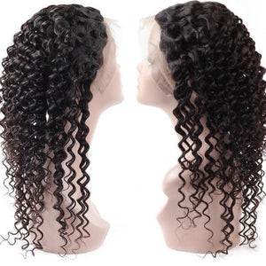 Brazilian Exotic Wave 360 Lace Frontal Closure - Exotic Hair Shop