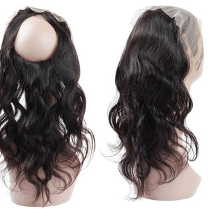Brazilian Body Wave 360 Lace Frontal Closure - Exotic Hair Shop