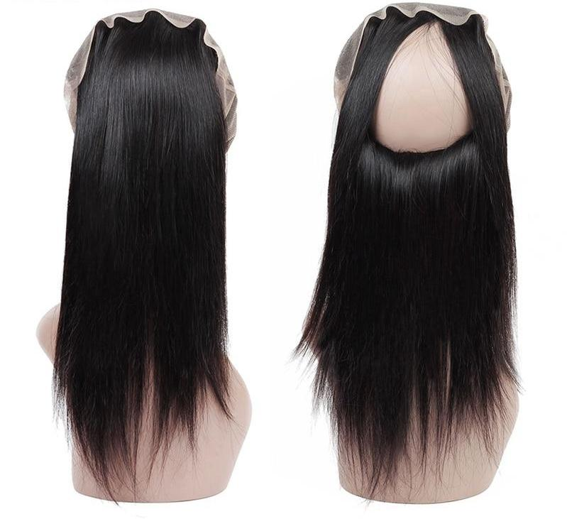 Indian Straight Hair 360 Lace Frontal - Exotic Hair Shop