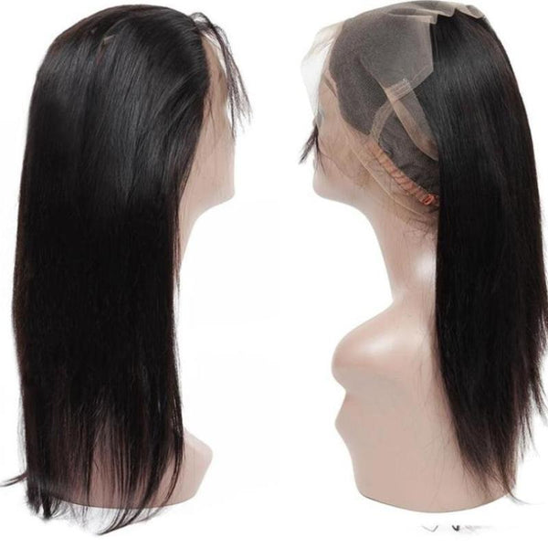 Brazilian Straight 360 Lace Frontal - Exotic Hair Shop