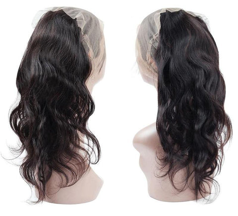 Indian Body Wave 360 Lace Frontal - Exotic Hair Shop