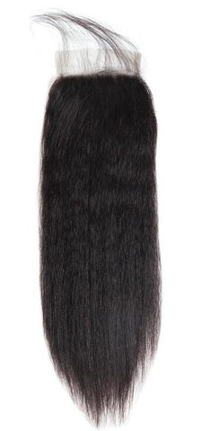 "Brazilian Straight Lace Closure 4""x4"" - Exotic Hair Shop"