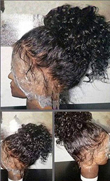Brazilian Curly 13x6 Lace Front Wig with Pre-Plucked Baby Hair - Exotic Hair Shop
