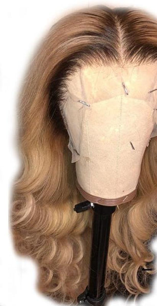 Brazilian Lace Front Wig in Colors #4/27 - Exotic Hair Shop
