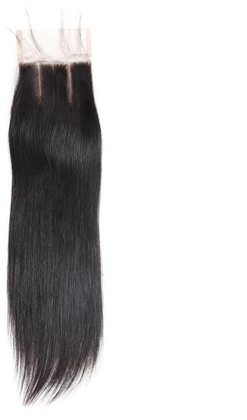 "Malaysian Straight Hair 4""x 4"" Lace Closure - Exotic Hair Shop"