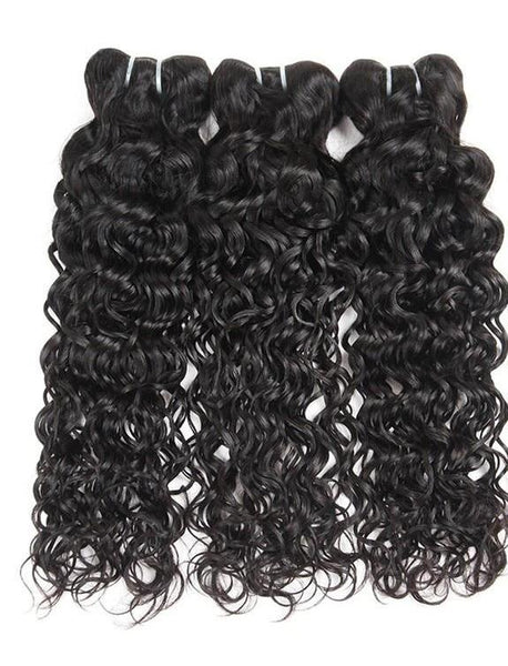 4 Indian Water Wave Bundles - Exotic Hair Shop