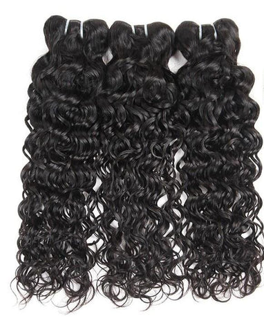 3 Indian Water Wave Bundles - Exotic Hair Shop