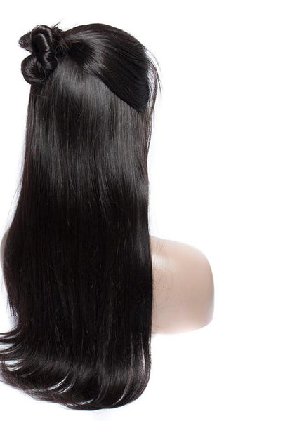 Brazilian Straight 360 Lace Frontal Wig with Pre-Plucked With Baby Hair - Exotic Hair Shop