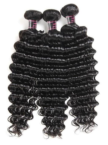 3 Indian Exotic Wave Bundles - Exotic Hair Shop
