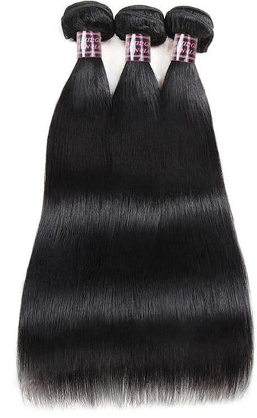 4 Indian Straight Hair Bundles - Exotic Hair Shop