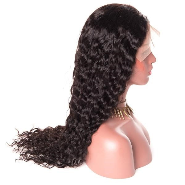 Brazilian Water Wave Scalp Illusion Full Lace Wig - Exotic Hair Shop