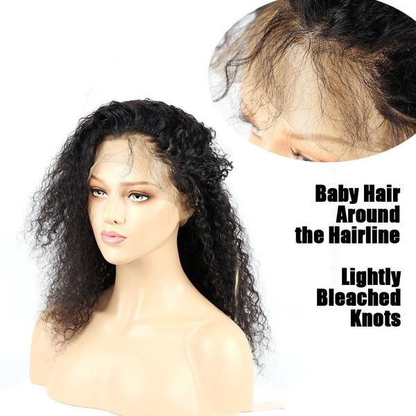 Brazilian Water Wave 360 Lace Front Wig with Baby Hair - Exotic Hair Shop